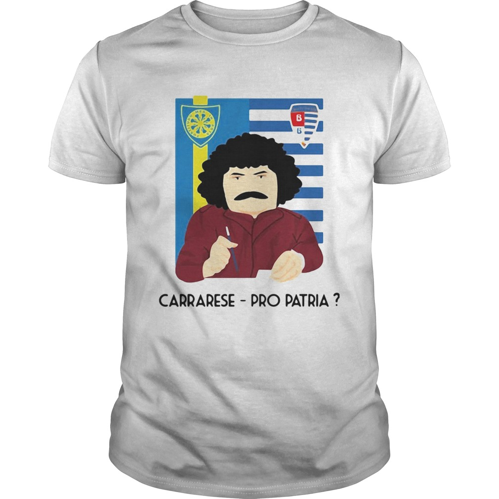 Colorful Carrarese Vs Pro Patria shirt