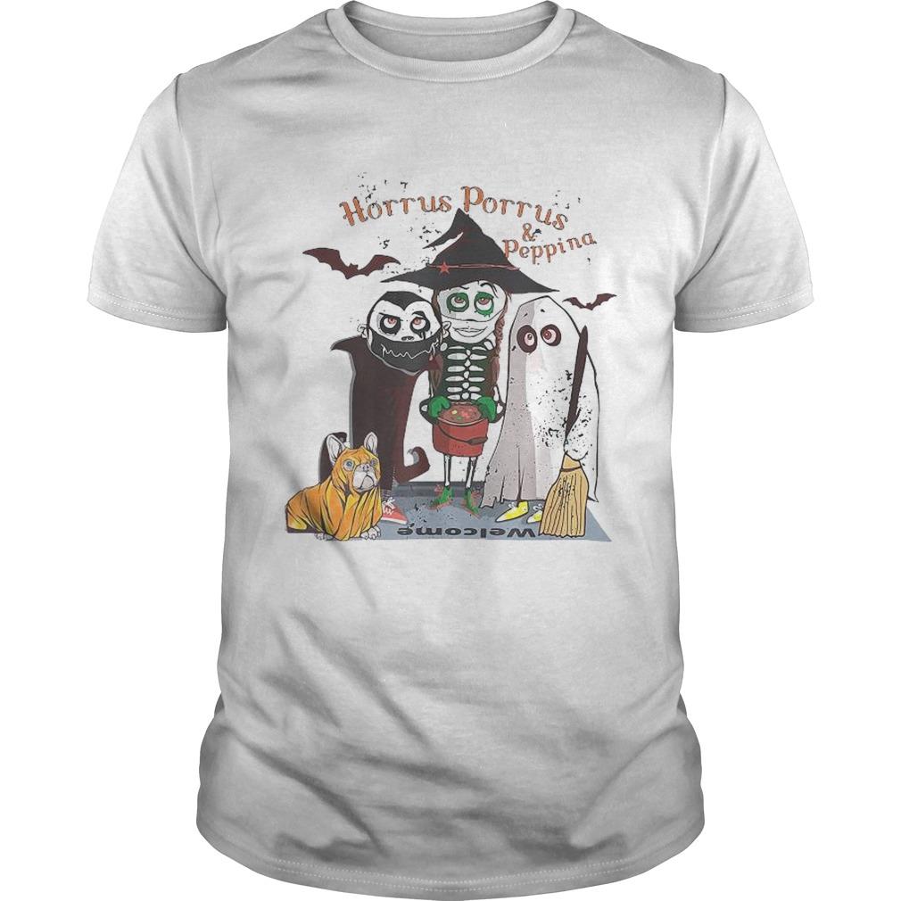 Horrus Porrus And Peppina Halloween shirt