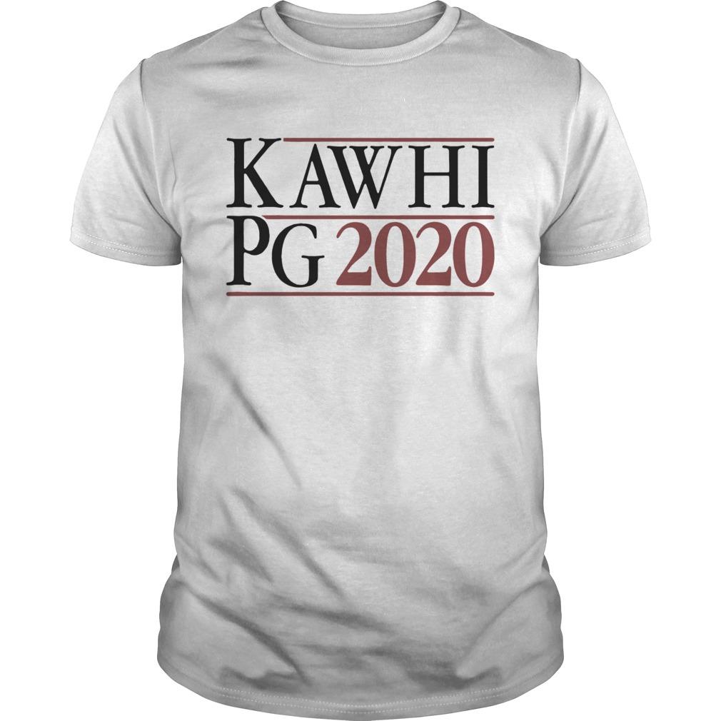 Kawhi Pg 2020 shirt