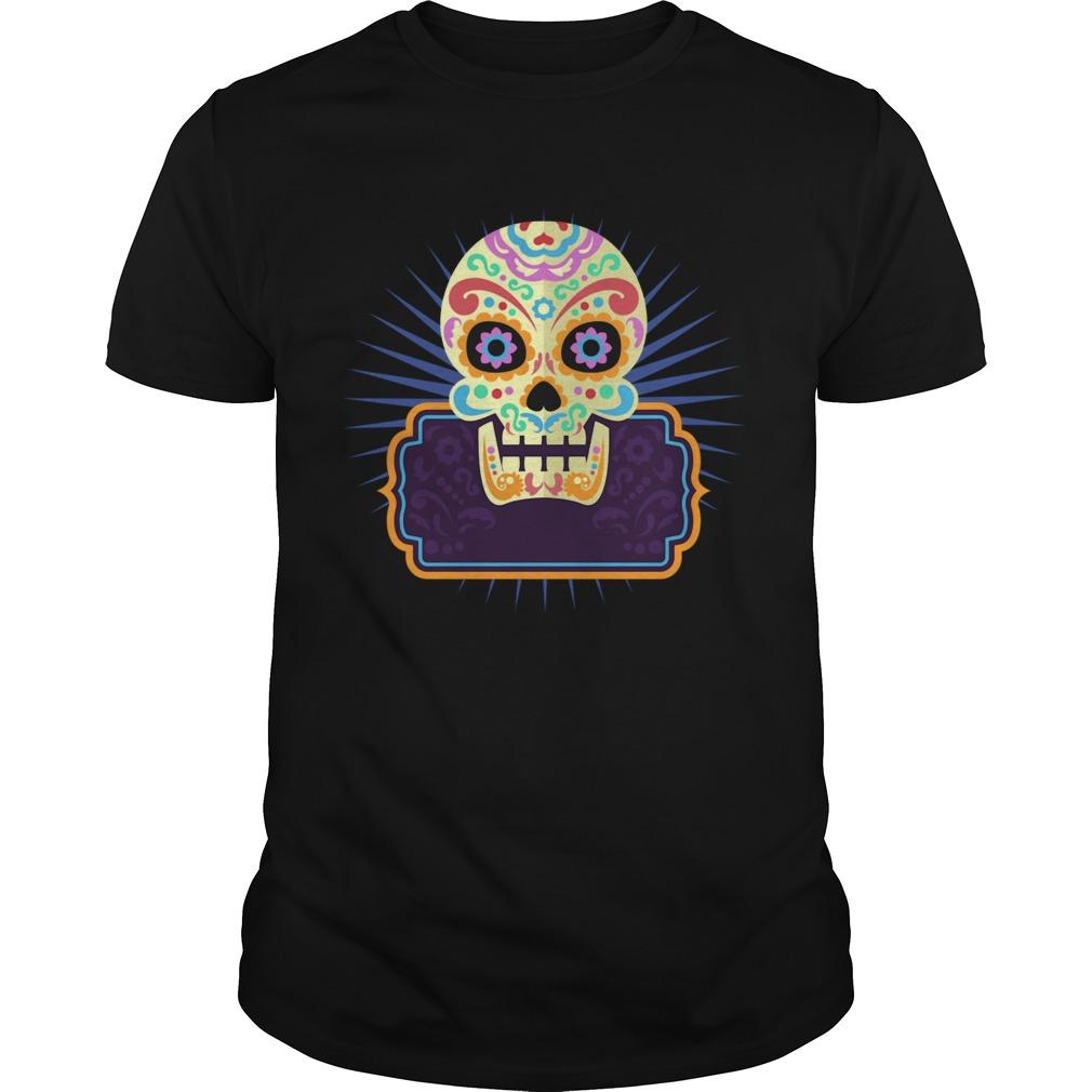 Sugar Skull Day Dead Dia De Los Muertos Vintage shirt