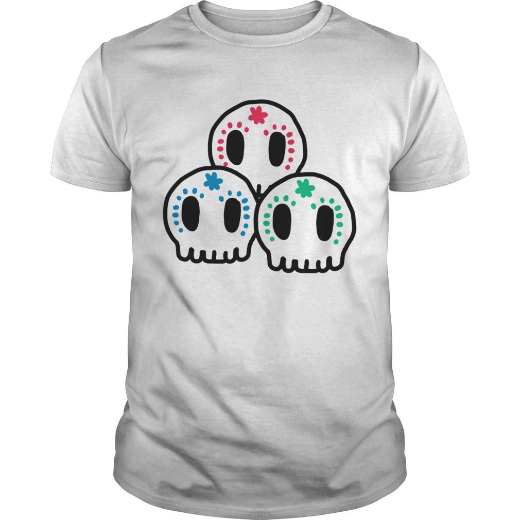 Skull Dia De Muertos Day Of The Dead shirt