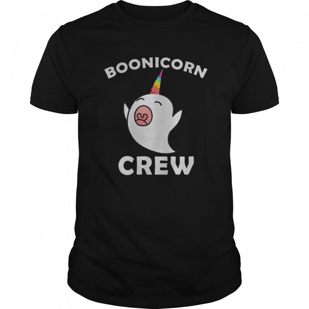 Boonicorn Crew, Cute Halloween Unicorn Ghost shirt