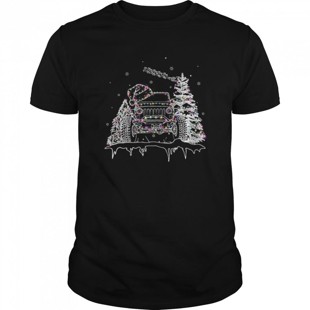 Christmas Jeep Light shirt