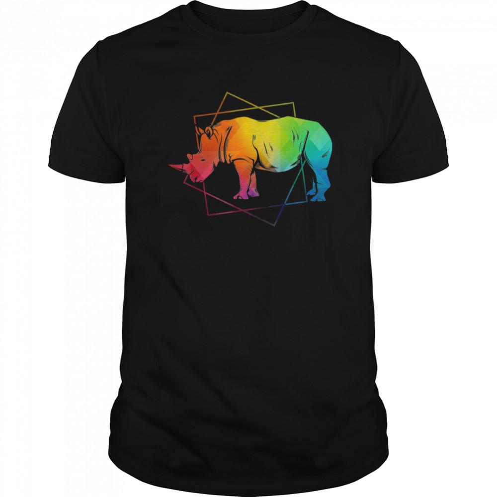 Zoo Animal Africa Safari Wildlife Rhino shirt