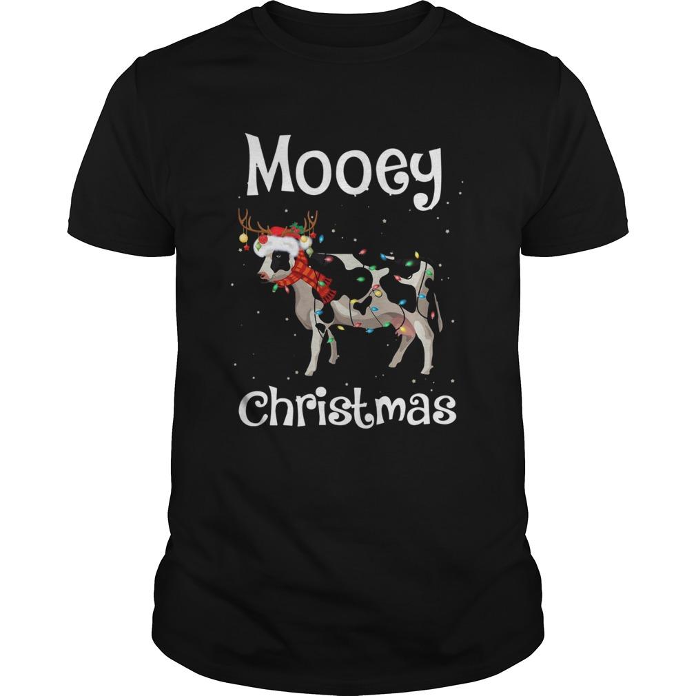 Cow Light Mooey Christmas shirt
