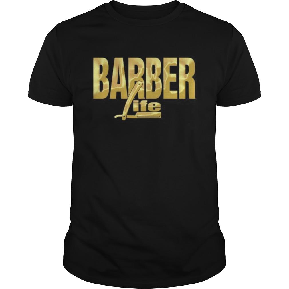 BARBER LIFE GOLD shirt
