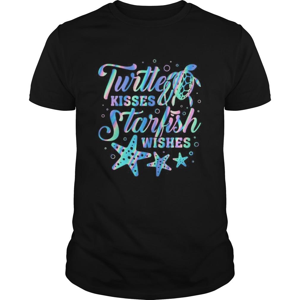 Turtte Kisses Starfish Wishes shirt