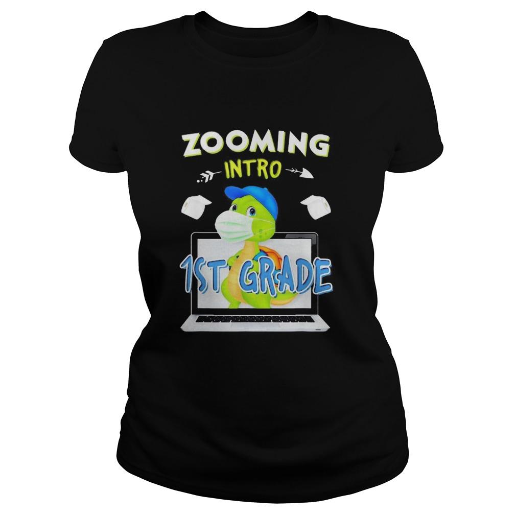 Zooming intro 1st grade shirt