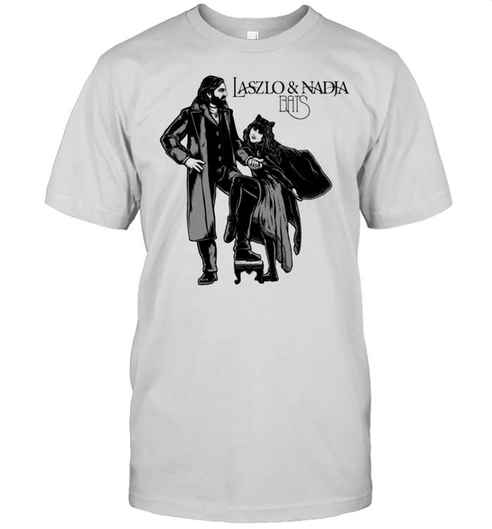 Laszlo and Nadja bats shirt