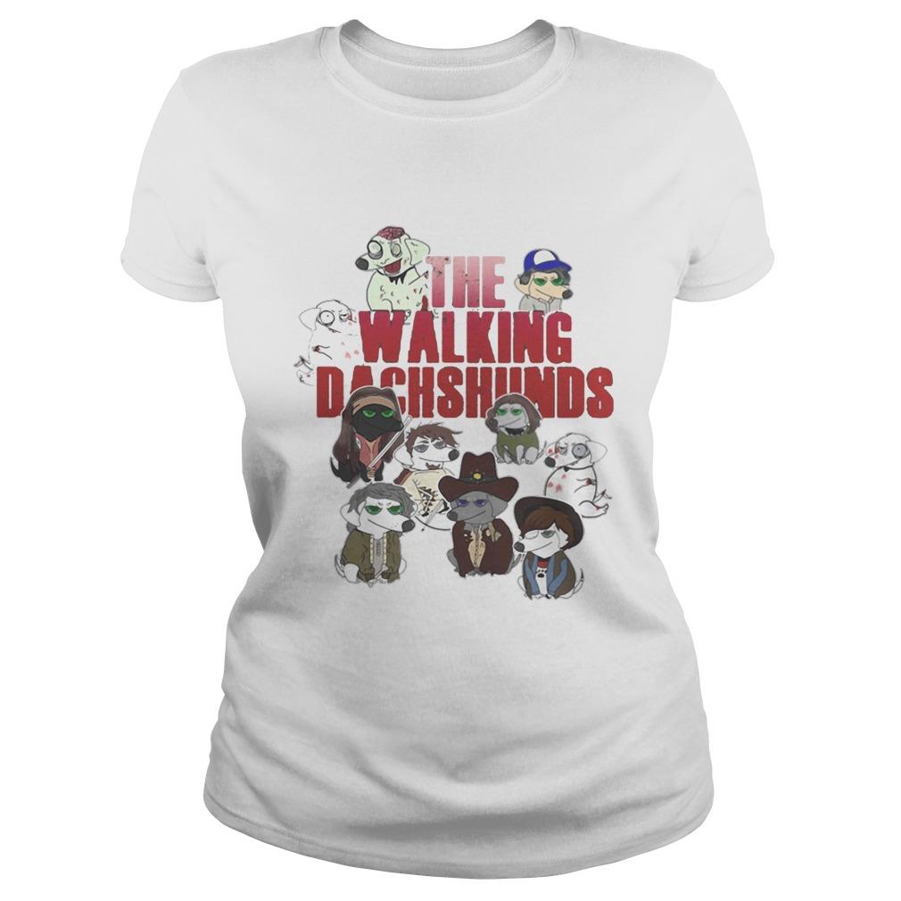 the walking dachshunds shirt
