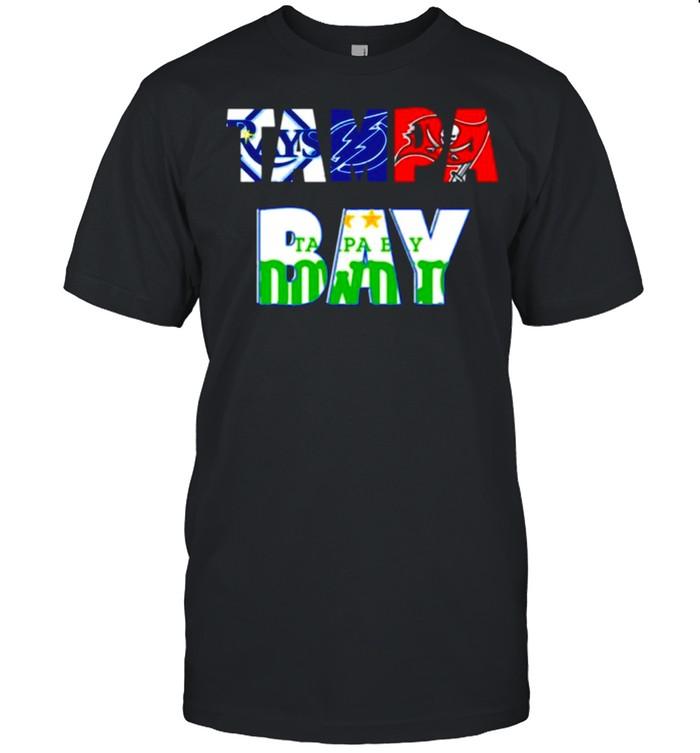 Mens 2021 Tampa Bay Rays Lightning Buccaneers Rowdies Football shirt