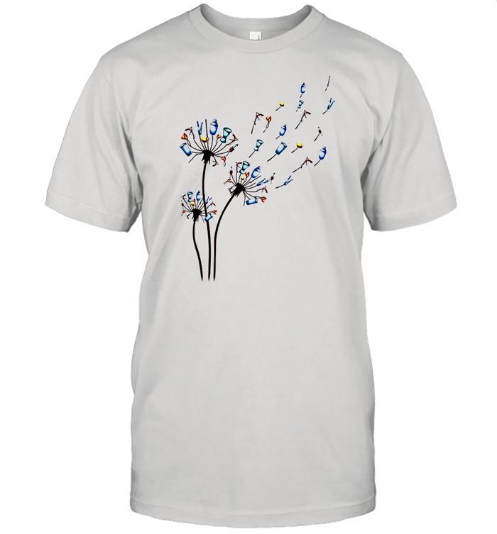 Dandelion Bartender Flower shirt