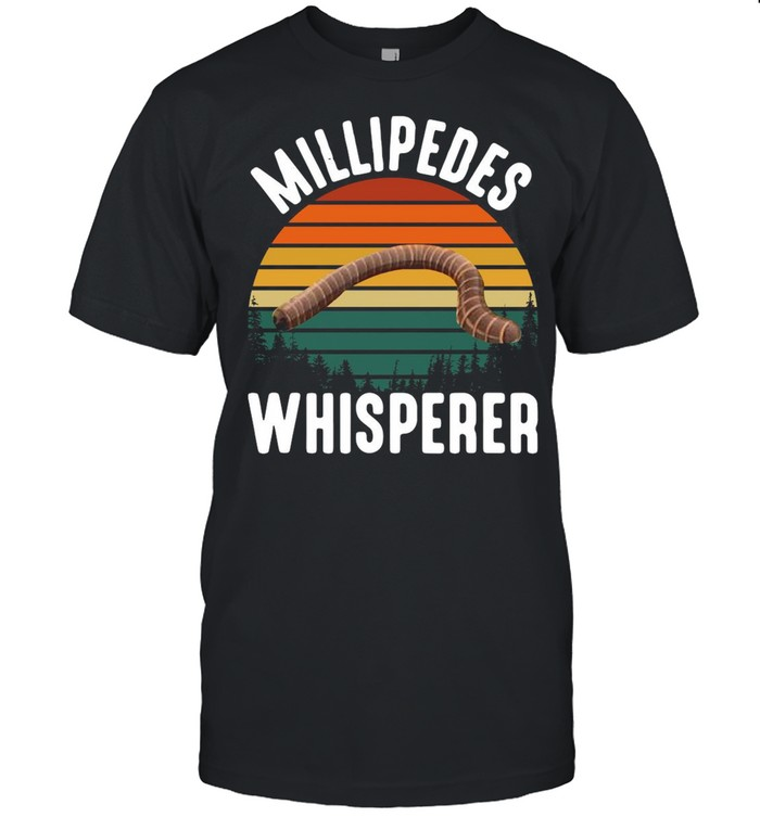 Millipedes Whisperer Vintage Retro shirt