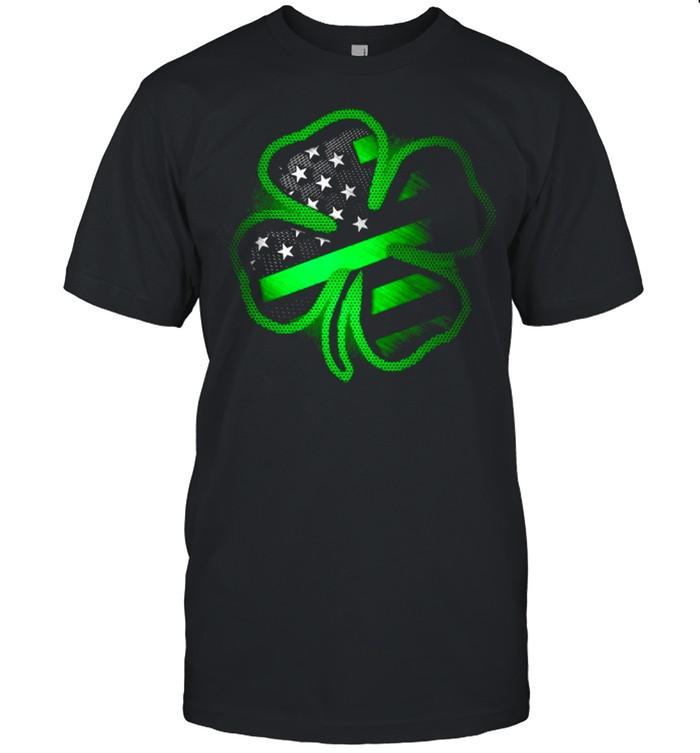 2021 Firefighter clover St Patricks Day shirt
