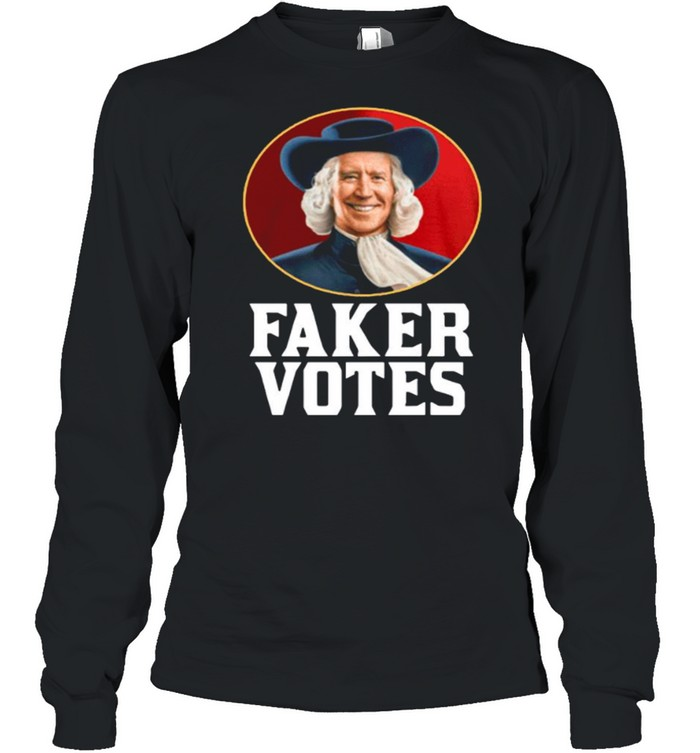 Jim Acosta Faker Votes shirt Long Sleeved T-shirt