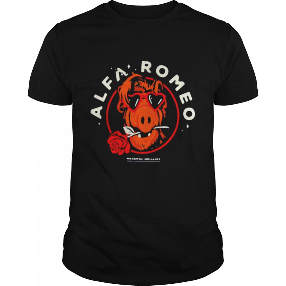 Alfa Romeo Rose shirt