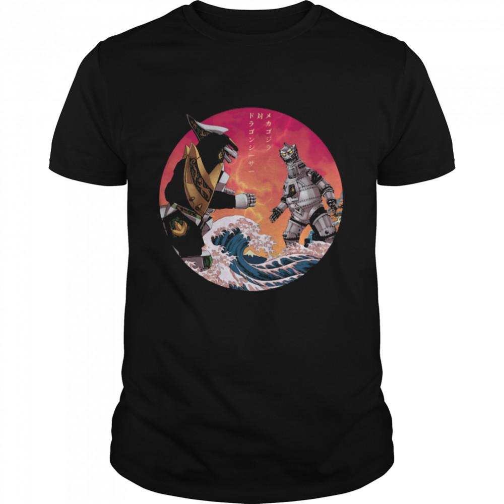 Discover Japan Mechagodzilla Vs Godzilla shirt