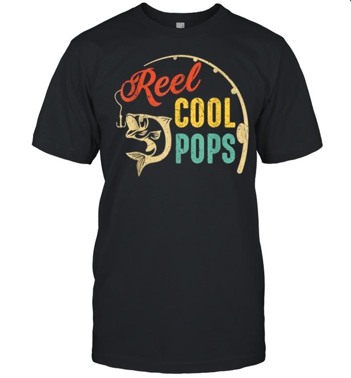 Vintage Fishing Reel Cool Pops shirt