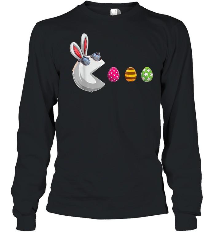 Easter Girls Boys Toddler Easter Bunny shirt Long Sleeved T-shirt