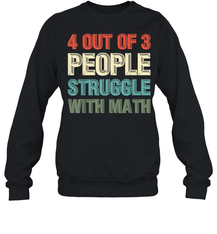 Mathematiker Geek Mathematik Nerd Lustiges Mathe shirt Unisex Sweatshirt