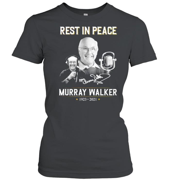Rest in peace Murray Walker 1923 2021 signature shirt Classic Women's T-shirt