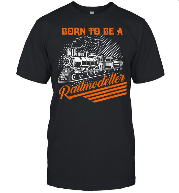 Model Train Railmodeller shirt