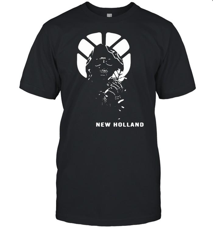 Skull With Logo New Holland Shirt