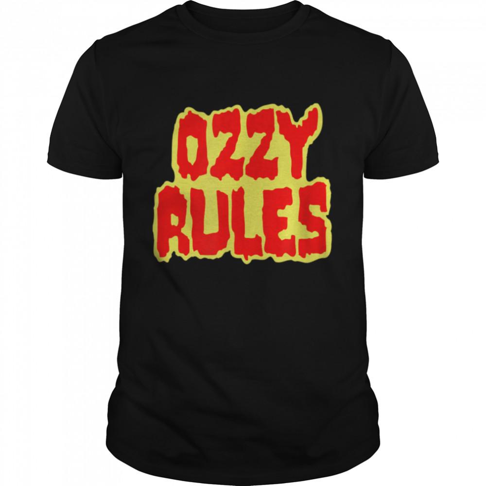Ozzy Osbourne Ozzy Rules Shirt