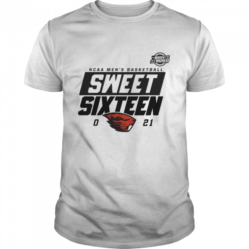 Oregon State Beavers NCAA mens basketball sweet sixteen 2021 shirt