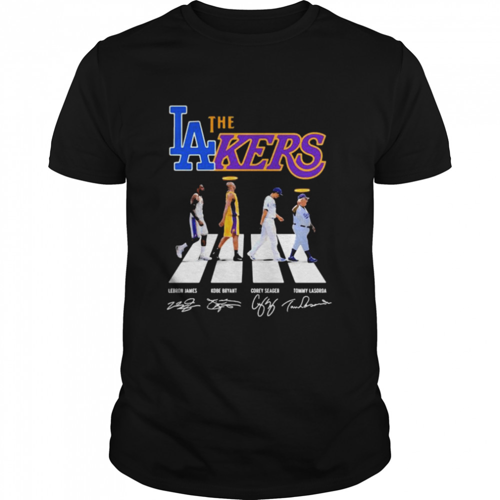 The Lakers Signature The Abbey Road Shirt