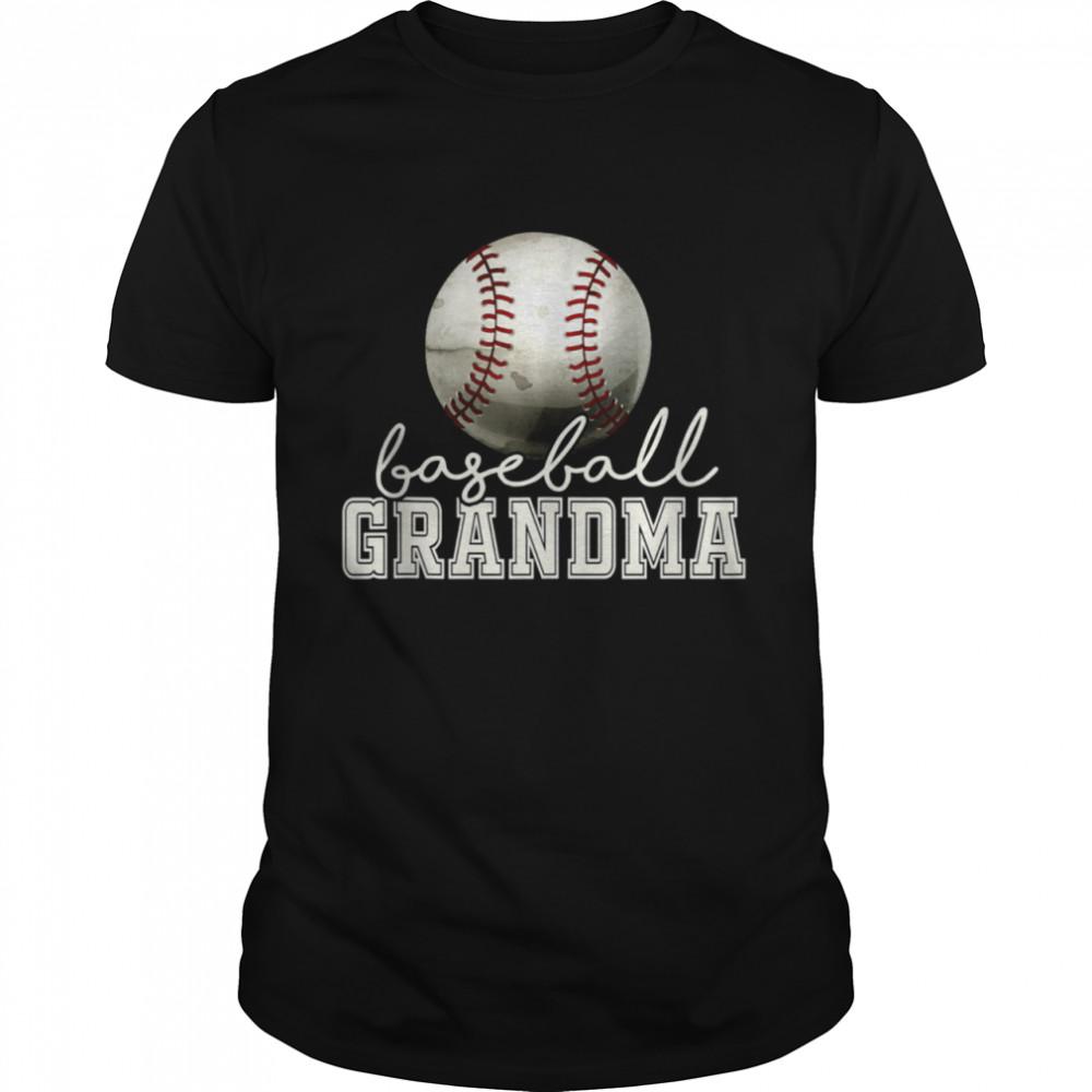 Vintage Baseball Grandma Shirt