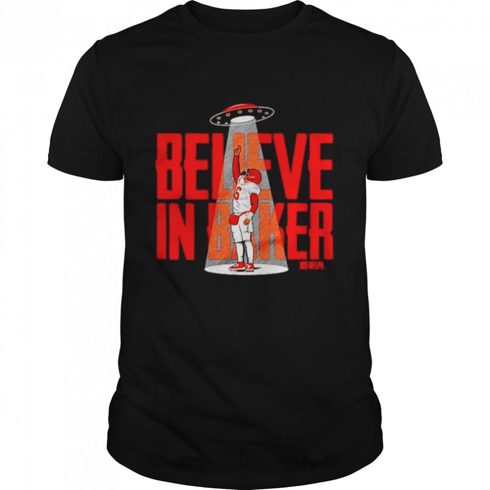 Baker Mayfield believe in baker shirt