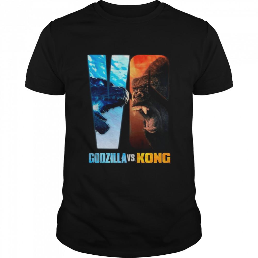 Team Godzilla Vs Team Kong 2021 Movie shirt