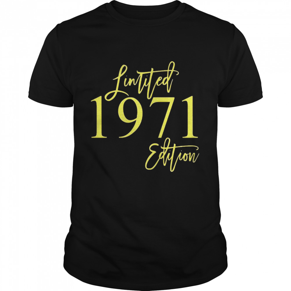 1971 limited edition shirt