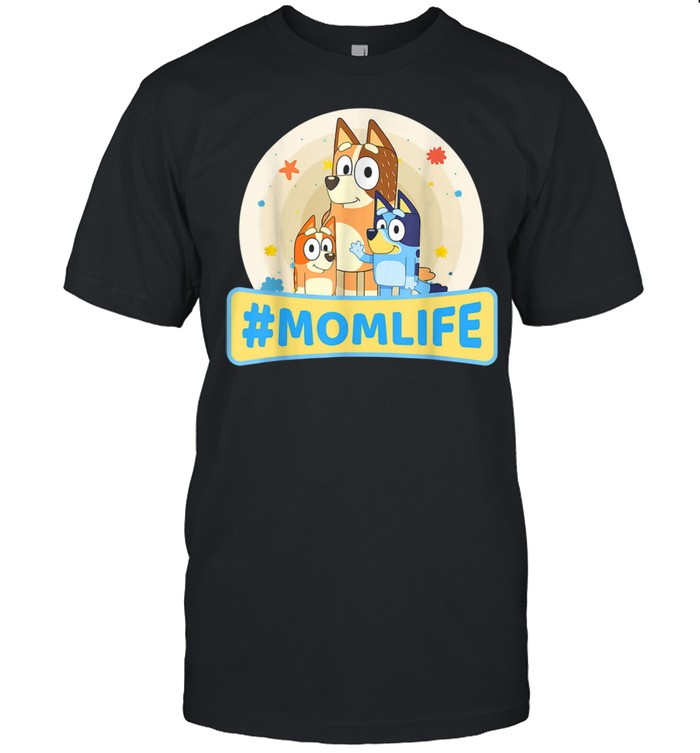 B.luey Mom Family For Life Mother's Days Mommy Shirt
