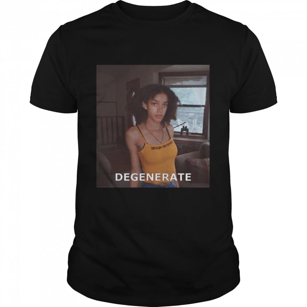 Degenerate Black Girl 2021 shirt