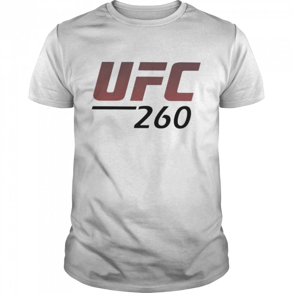 UFC miocic vs ngannou 260 shirt