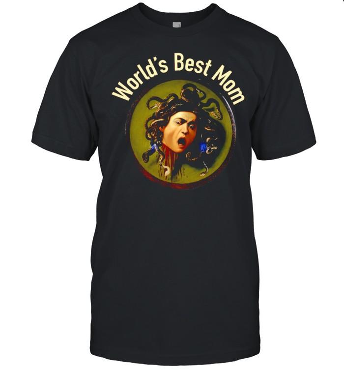 World's Best Mom Medusa Shirt