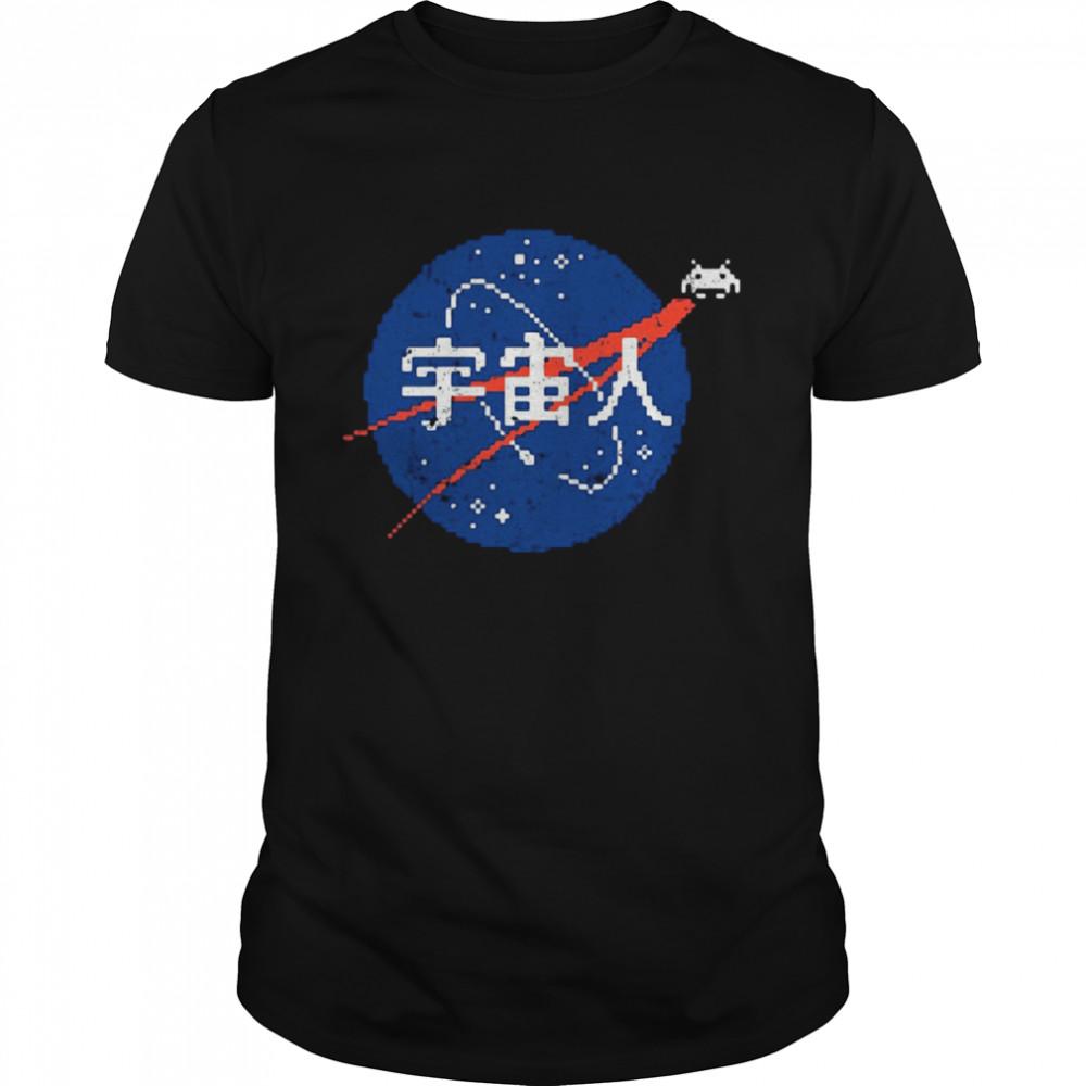 Space Invaders Nasa shirt
