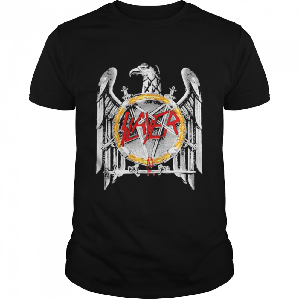 Slayer Silver Eagle Shirt