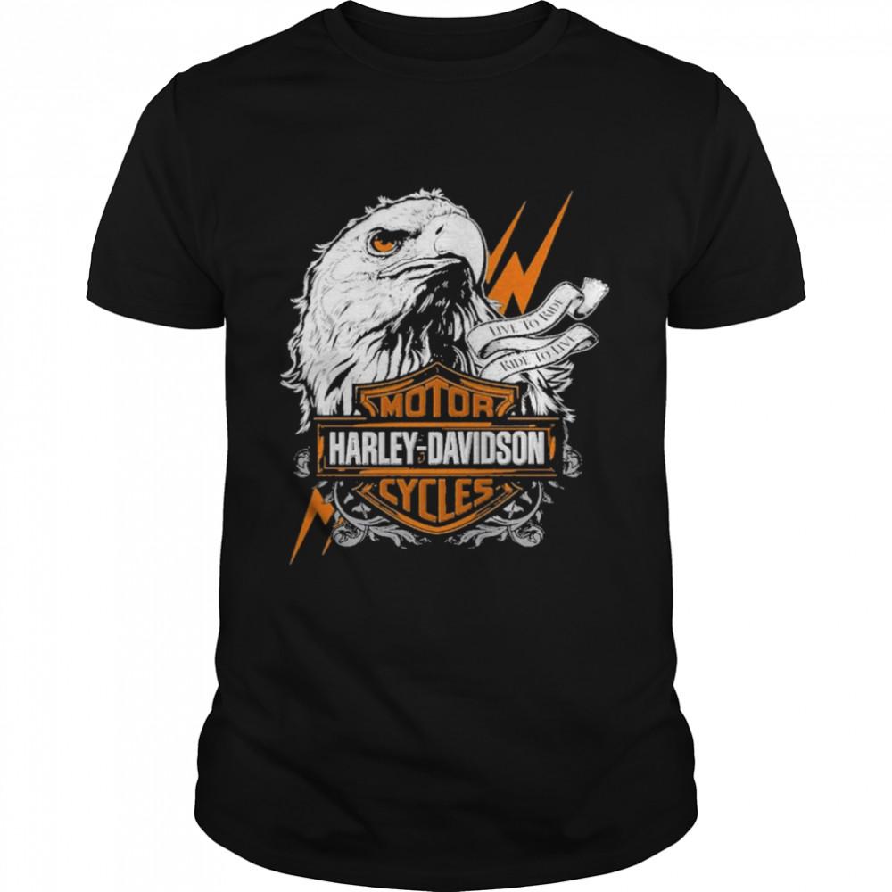 Eagle Motor Harley Davidson Cycles shirt