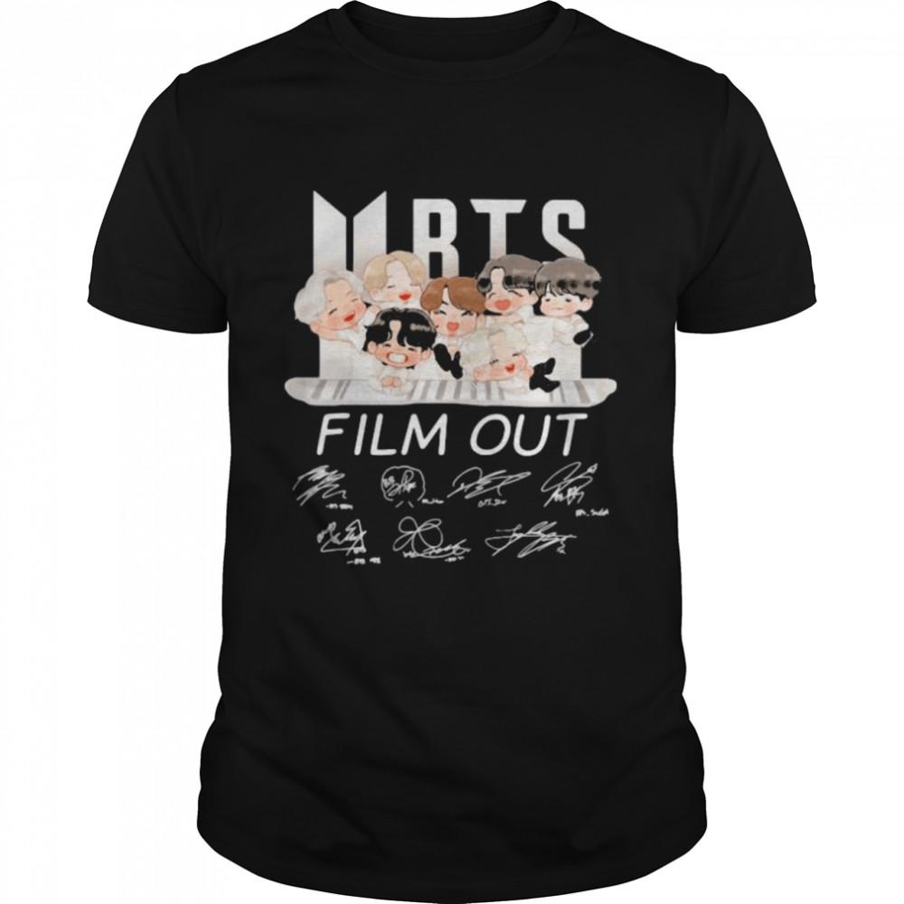 BTS Film Out Signature Shirt