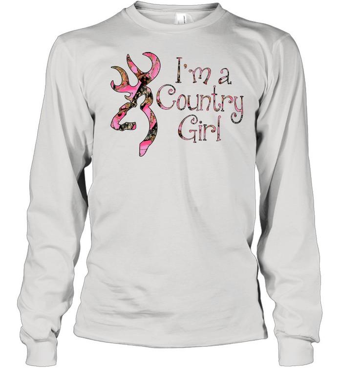 Im A Country Girl shirt Long Sleeved T-shirt