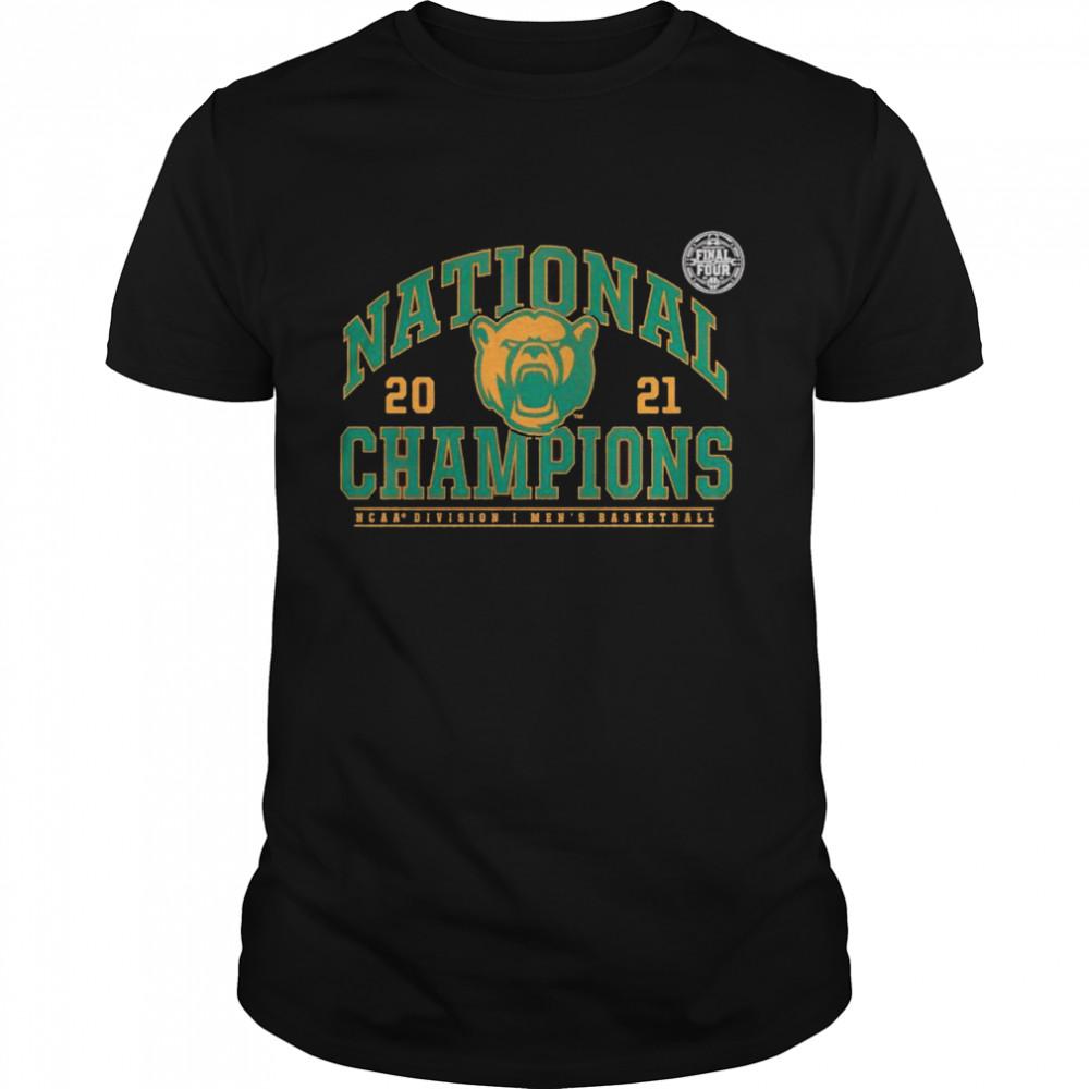 NCAA division I men's basketball 2021 Baylor Bears national champions shirt