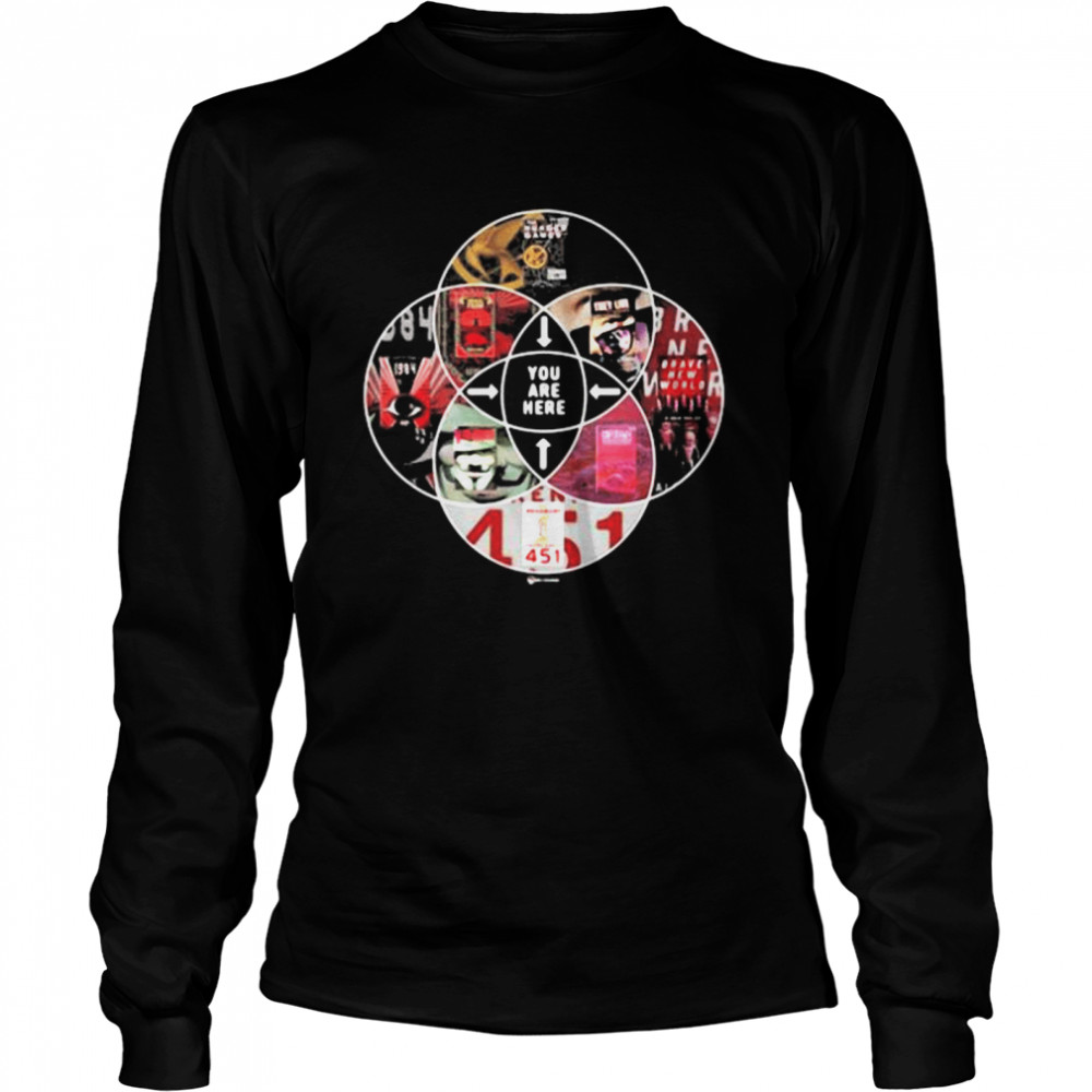 You Are Here  Long Sleeved T-shirt