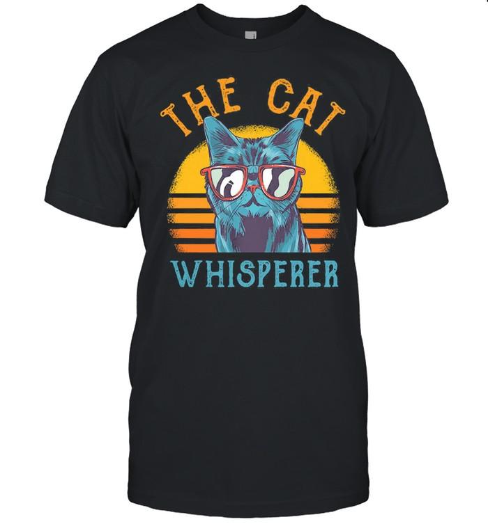 The Cat whisperer vintage shirt