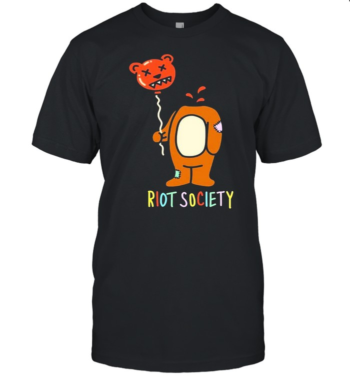 Bear riot society shirt