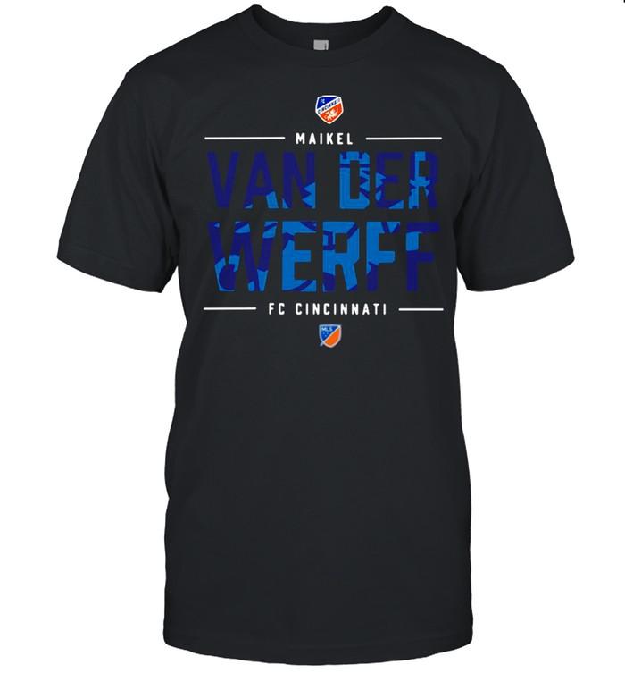 Fc Cincinnati Maikel Van Der Werff shirt
