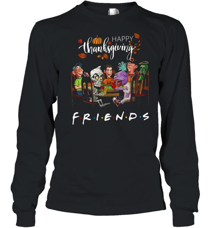 Happy Thanksgiving friends shirt Long Sleeved T-shirt