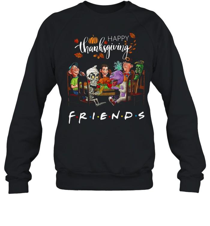 Happy Thanksgiving friends shirt Unisex Sweatshirt